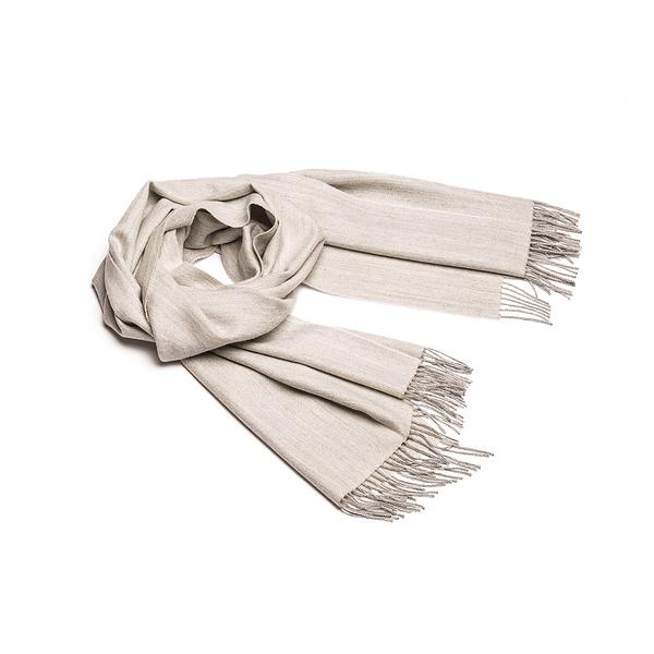 Alpaka Shawl Exclusive Fishbone 100% 65x200cm 極致魚骨紋系列 素面單色 羊駝毛 披肩 / 圍巾
