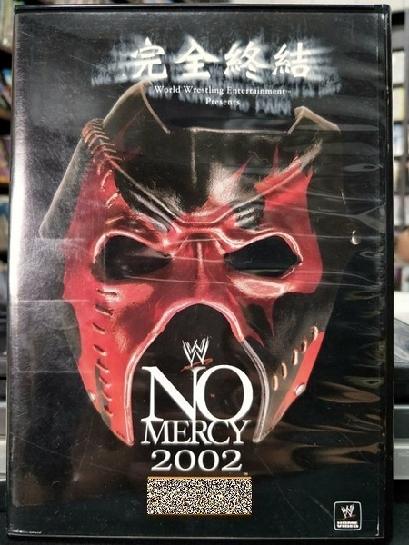 挖寶二手片-P66-025-正版DVD-其他【完全終結2002/NO MERCY】-摔角(直購價)