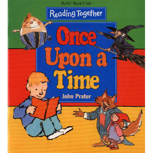【Reading Together】Once Upon a Time(1Book + 1CD)