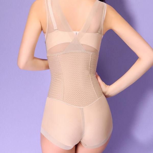 束身連體衣女士產後收腹美體束身衣托胸束腰提臀內衣-11617001018
