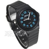 Kalion 馬卡龍繽紛彩色腕錶 圓錶 女錶 防水手錶 兒童手錶 學生錶 皆適合佩戴 數字錶 1307藍黑