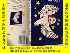 二手書博民逛書店the罕見owl who was afraid of the dark: 怕黑的貓頭Y200392