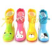 兒童雨鞋男童膠鞋小童幼兒女童小孩水鞋防滑套鞋寶寶雨靴【端午節免運限時八折】