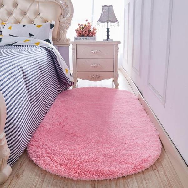 地毯臥室滿鋪客廳床邊地毯榻榻米墊子少女房間公主粉色可愛地墊 樂活生活館