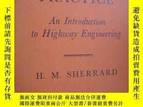 二手書博民逛書店罕見澳大利亞高速公路建設19726 澳大利亞 1956 出版19