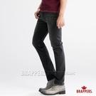 BRAPPERS 男款 彈性直筒褲-黑