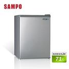 SAMPO 聲寶【SR-B07】71公升 定頻鋼板單門冰箱 二級能效 台灣製造