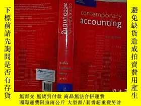 二手書博民逛書店contemporary罕見accounting Fourth