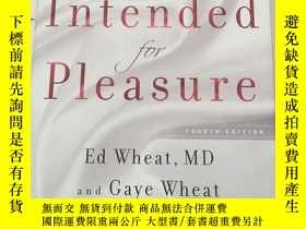 二手書博民逛書店Intended罕見for Pleasure—Sex Techn