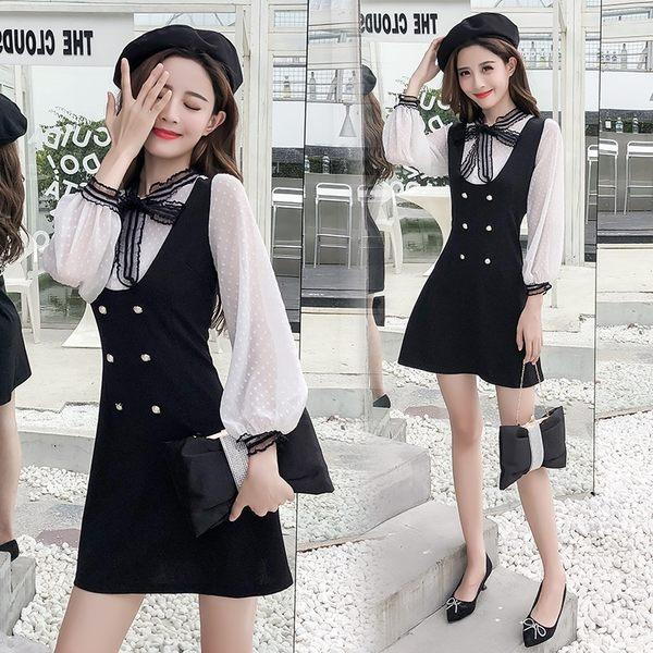 韓版顯瘦氣質洋裝
