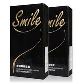 超值組合(2盒入/組) Smile 史邁爾 超薄衛生套 12片裝 保險套【套套先生】螺紋