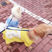 狗狗衣服金毛夏季薩摩耶哈士奇邊牧薄款大型犬夏天寵物防掉毛夏裝 卡布奇诺