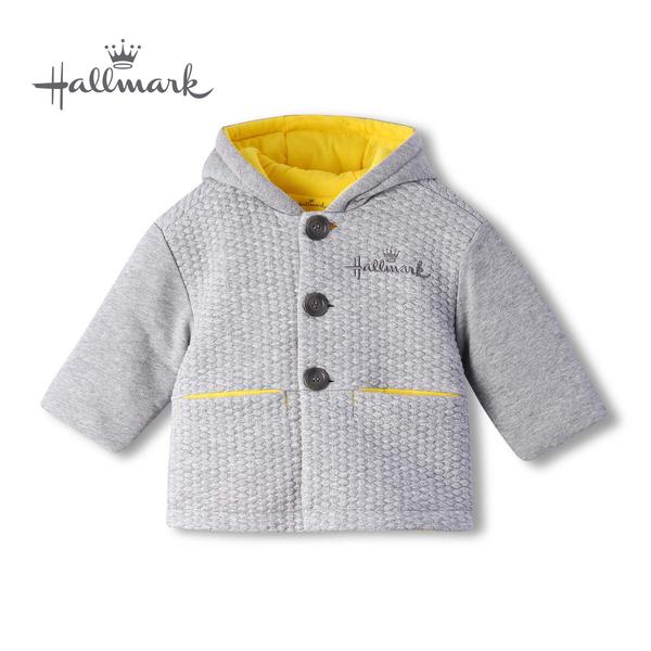 【網路獨家款】Hallmark Babies 百搭休閒長袖連帽外套 HH8-B15-17-KU-MG