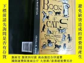 二手書博民逛書店The罕見Book of Cats: A Chit-Chat C