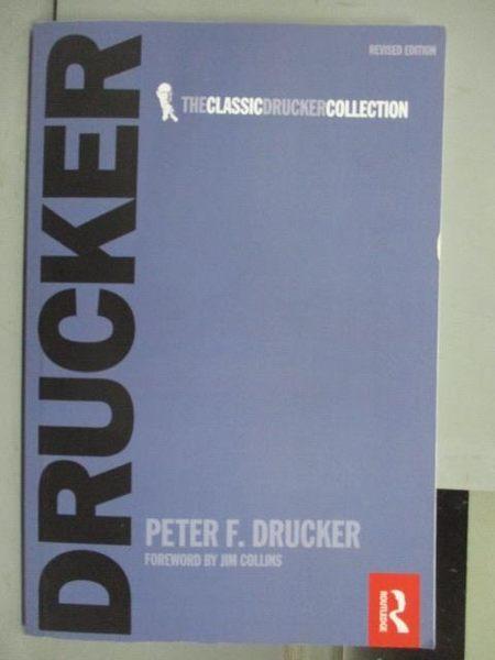 【書寶二手書T3/財經企管_QCJ】The Effective Executive Drucker