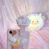 黑五好物節★hulaCc手機直播主播打光攝像可愛補光燈美顏嫩膚神器led自拍燈