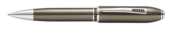 高仕CROSS-尊爵系列-原子筆-半透鈦灰