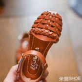 女童涼鞋 夏季鞋羅馬女寶涼鞋4歲女童公主-5 6歲正韓范兒中大童鞋 米蘭shoe