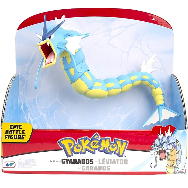 [9美國直購]Pokemon 精靈寶可夢 史詩戰鬥人偶 12 Epic Battle Figure - Gyarados