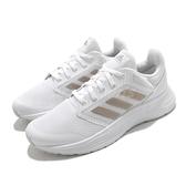 adidas 慢跑鞋 Galaxy 5 白 金 三條線 愛迪達 女鞋 小白鞋 運動鞋【ACS】 FY6744