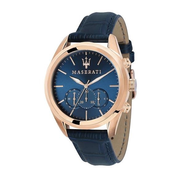 【Maserati 瑪莎拉蒂】/經典三眼錶(男錶 女錶 手錶 Watch)/R8871612015/台灣總代理原廠公司貨兩年保固