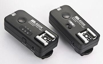 呈現攝影-品色 ROOK F-508 C 無線閃燈觸發器2.4G Canon用可雙閃 分組 喚醒 快門 ETTL