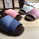 台灣製造-漫活咖啡紗家居室內拖鞋-拼色-2雙任選組
