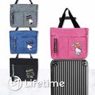 ﹝Kitty時尚行李箱拉桿包﹞正版 行李袋 旅行袋 收納包 手提包 凱蒂貓〖LifeTime一生流行館〗