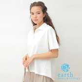 ❖ Hot item ❖ 素面短袖POLO杉 - earth music&ecology