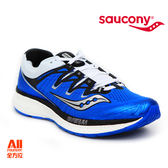 【Saucony】男款慢跑鞋 TRIUMPH ISO 4 輕量系列 -寶藍(204132)全方位跑步概念館