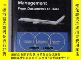 二手書博民逛書店英文原版罕見Aviation Information Manag