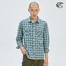 ADISI 男N66 四面彈透氣速乾長袖格紋襯衫AL2011104 (M-2XL) / 城市綠洲 (四向彈性、防曬、速乾)