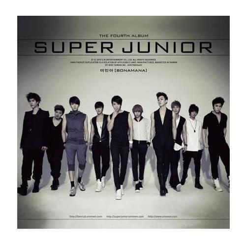 Super Junior 美人啊BONAMANA CD附DVD 台灣特別版  (購潮8)