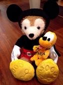 *Yvonne MJA* 美國 迪士尼Disney 樂園限定正品 Duffy 達菲熊 雪莉玫熊 S號娃 米奇 套裝外衣