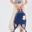 愛的抱抱後背包-貴族藍/手提包/拼布包包