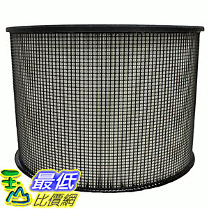 [106美國直購] Crucial Air Filter Fits All Filter Queen Defender Air Cleaners using 8 tall filters, including D360,…