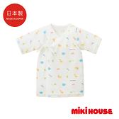 MIKI HOUSE BABY 日本製 可愛動物新生兒紗布衣