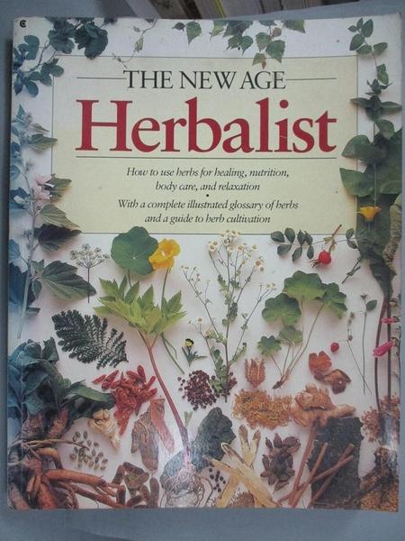 【書寶二手書T9/園藝_ZGC】The New Age Herbalist_Richard Mabey