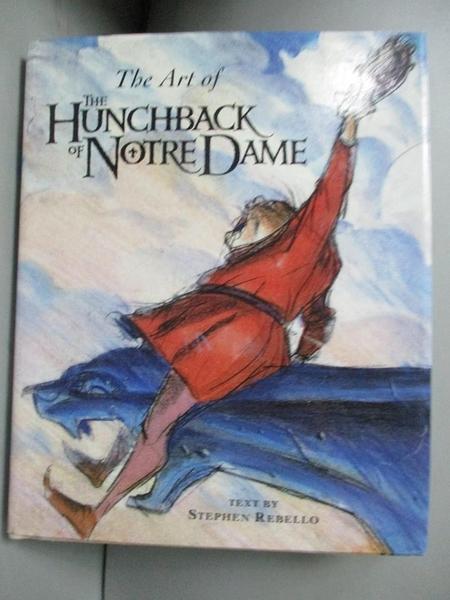 【書寶二手書T9/原文小說_ILH】The Art of Hunchback of Notre Dame_Stephen