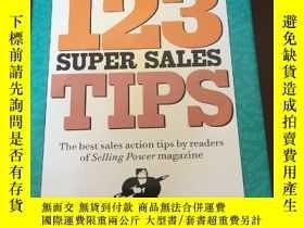 二手書博民逛書店123罕見Super Sales TipsY12800 Good