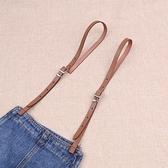 吊帶夾 1cm細款肩帶女 齊胸吊帶褲背帶裙的背帶帶子 可調節可剪短 伊衫風尚3C數碼店
