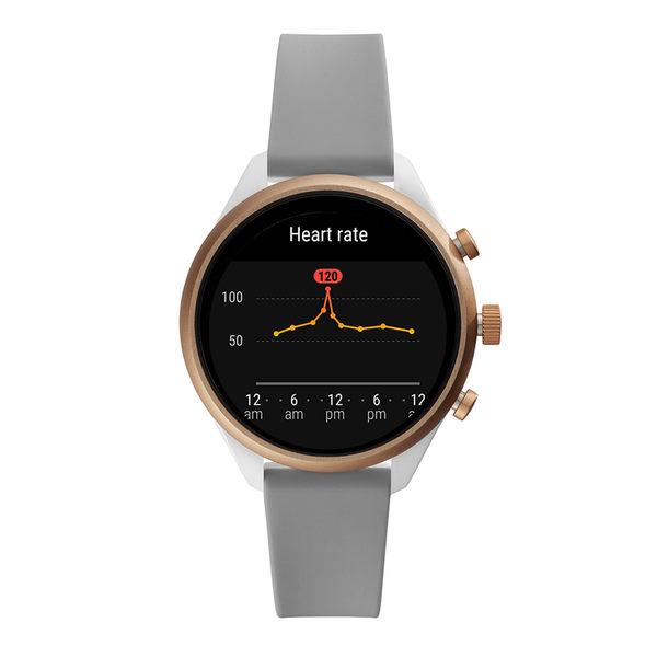 FOSSIL SPORT 運動智能錶 - 41MM 灰色矽膠