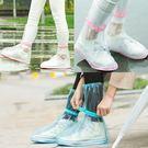 加厚防滑款 防水鞋套 高筒長筒 雨鞋 防...
