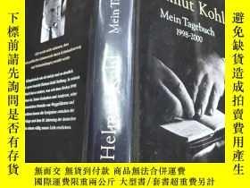 二手書博民逛書店Helmut罕見Kohl Mein Tagebuch (1998