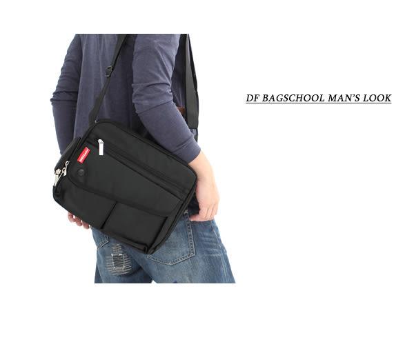 DF BAGSCHOOL - 裏原宿多隔層機能型防潑水側背包