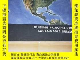 二手書博民逛書店GUIDING罕見PRINCIPLES OF SUSTAINABLE DESIGNY249169 GUIDIN