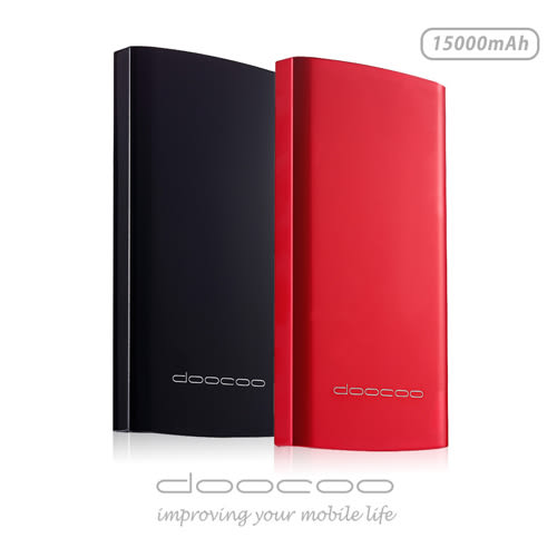 ★可支援Type-C★ doocoo islim PLUS 15000mAH 4th Power Bank 雙輸出智能行動電源 (手機)