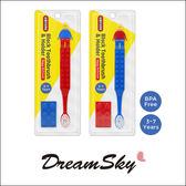 韓國 OXFORD 樂高 積木兒童 牙刷 (紅藍) 牙齒 預防蛀牙 3歲以上 Dreamsky
