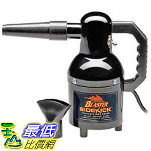 [107美國直購] 大陸適用 MetroVac Air force Blaster Sidekick Portable Motorcycle Dryer, 220-Volt