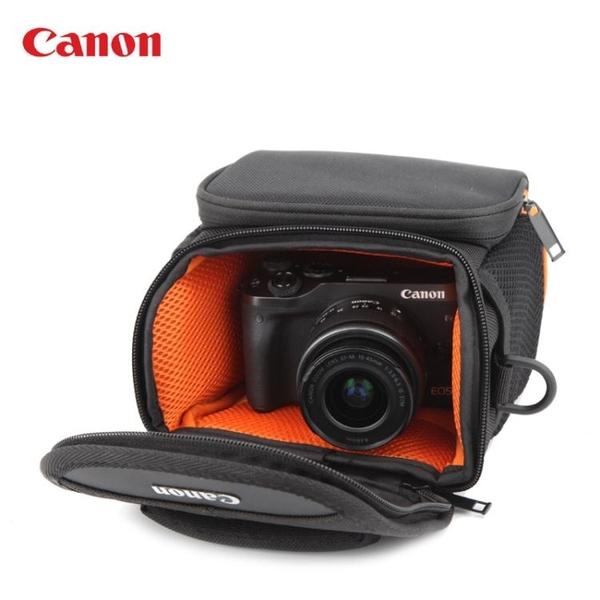 canon佳能EOS-M5 M50 M100 M10M6單電微單防水單肩攝影收納相機包 南風小鋪